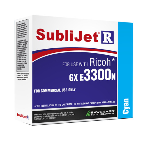 SubliJet-R Inks for Ricoh GX e3300N/Ricoh GXE 7700