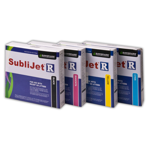 Large SubliJet-R Inks for Ricoh GX e7700