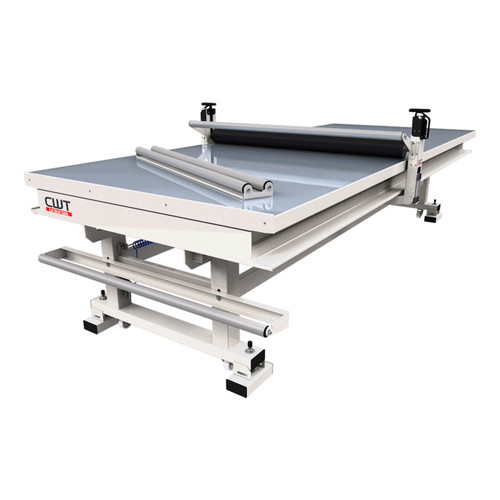 """CWT 2147 Premium  Work Table and Flat Bed Applicator with LED Illumination 15'4"""" x 6'9"""""""