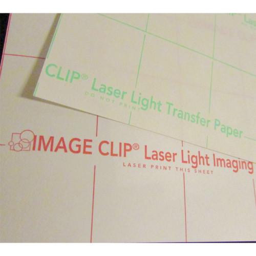 Neenah Image Clip Laser Light Toner Transfer Paper for Light Garments