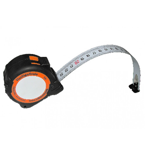 Yellotools FlatSignScale Flexible Markable Metric Tape Measure