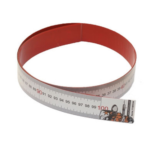 Yellotools MagTape Microsuction-Backed Ruler for Holding Magnets