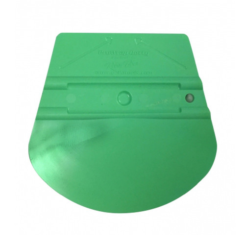 Yellotools ProWrap Betty 30 Degree Round-Edged Squeegee - Green