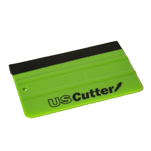 Green Squeegee with USCutter Logo
