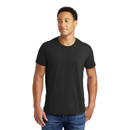 Hanes 100% Cotton T-Shirt, Tagless Nano-T Shirt, Black or White, S, M, L, XL