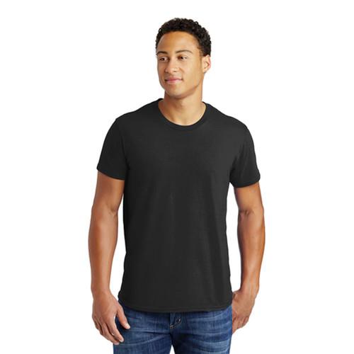 Hanes 100% Cotton T-Shirt, Tagless Nano-T Shirt, Black or White, S, M, L, XL