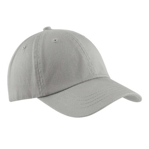 Chrome Baseball Hat Blank Unstructured Washed Twill Cap