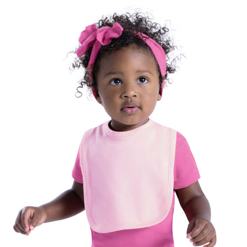 Baby Bib Apparel Blank Singles - Rabbit Skins One Size Fits Most