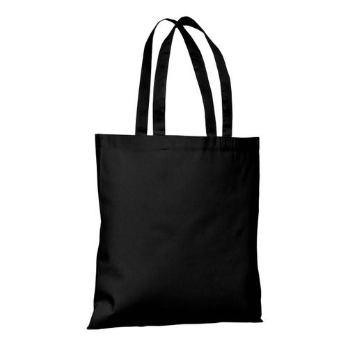 Black Tote Bag Blank - 15in x 15in