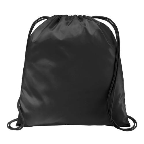 Black Ultra Core Cinch Pack, 16.5h x 14.5w Blank Bag