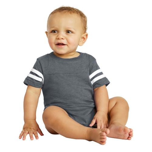 Baby Onesie Bodysuit - Rabbit Skins Football Fine Jersey