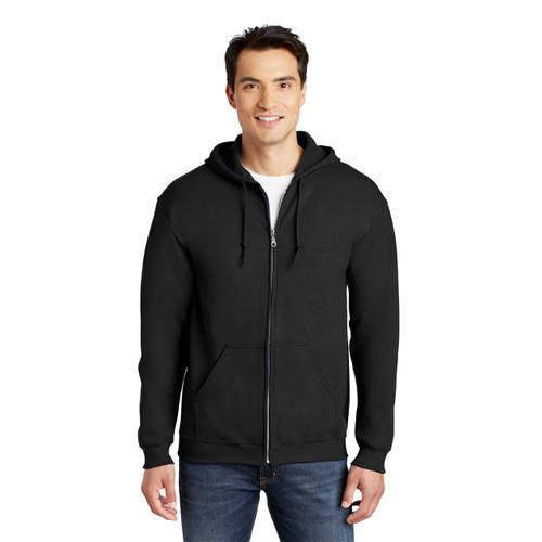 Sweatshirt Full-Zip Hooded Heavy Blend Glidan Navy XL
