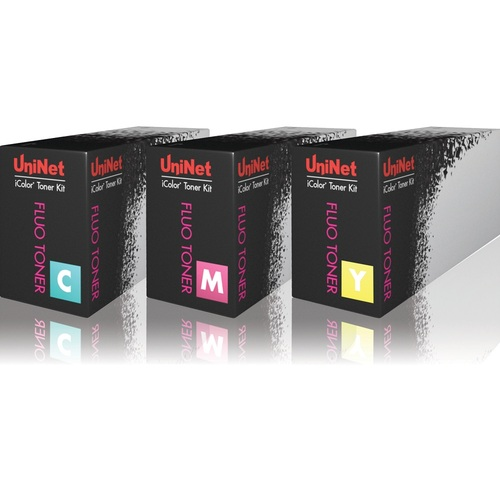 UniNet iColor 500 Fluorescent CMY Toner and Drum Starter Cartridge Kit