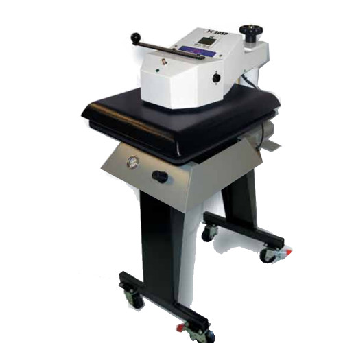 """Geo Knight DK25SP 20"""" x 25"""" Air Operated Swing Away Heat Press with Stand"""