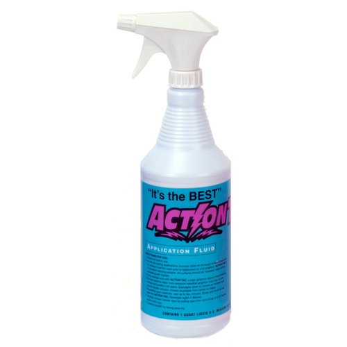 Action Tac Vinyl Application Fluid with Sprayer (1 qt)