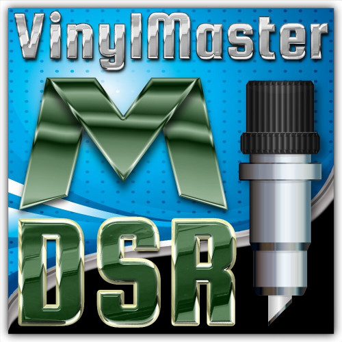 VinylMaster DSR (Designer) Retail Edition 4.3, Vinyl Cutting Software