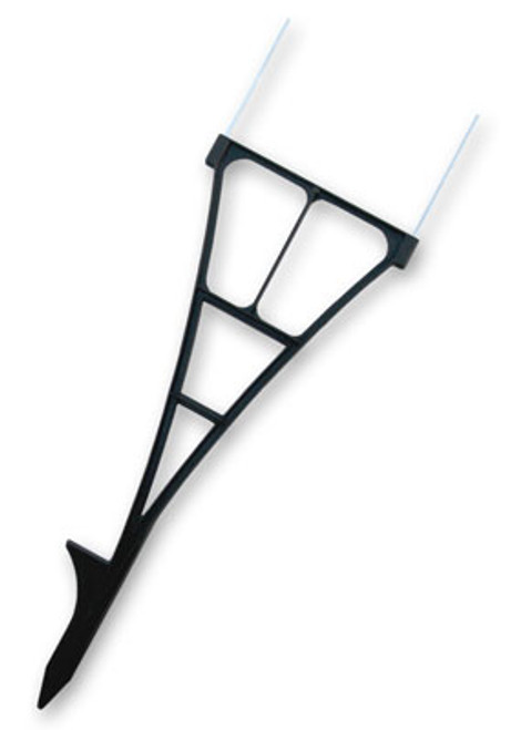 USA Spider Stake - Corrugated Plastic Step Stake (Case of 50)