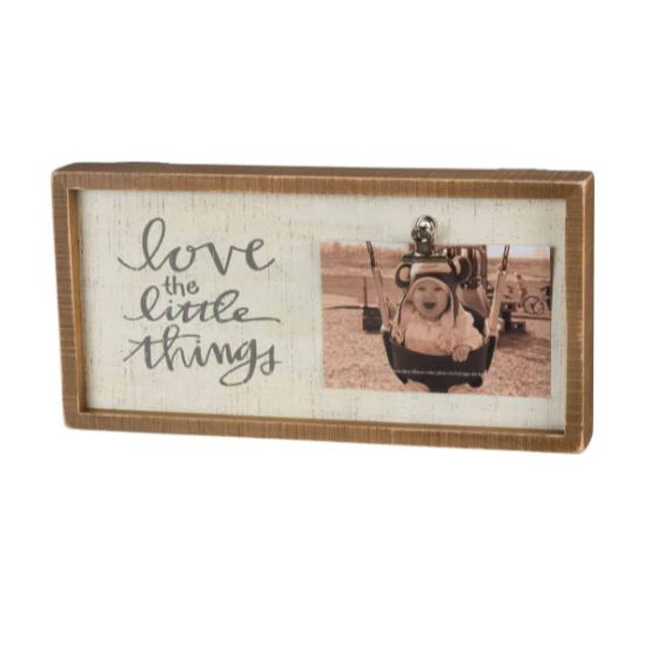 Primitives By Kathy Inset Box Frame Love The Little Things 37666