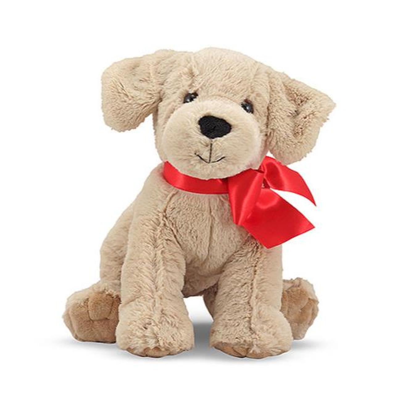 Melissa Doug Sunny Yellow Lab Puppy Dog Stuffed Animal 7480