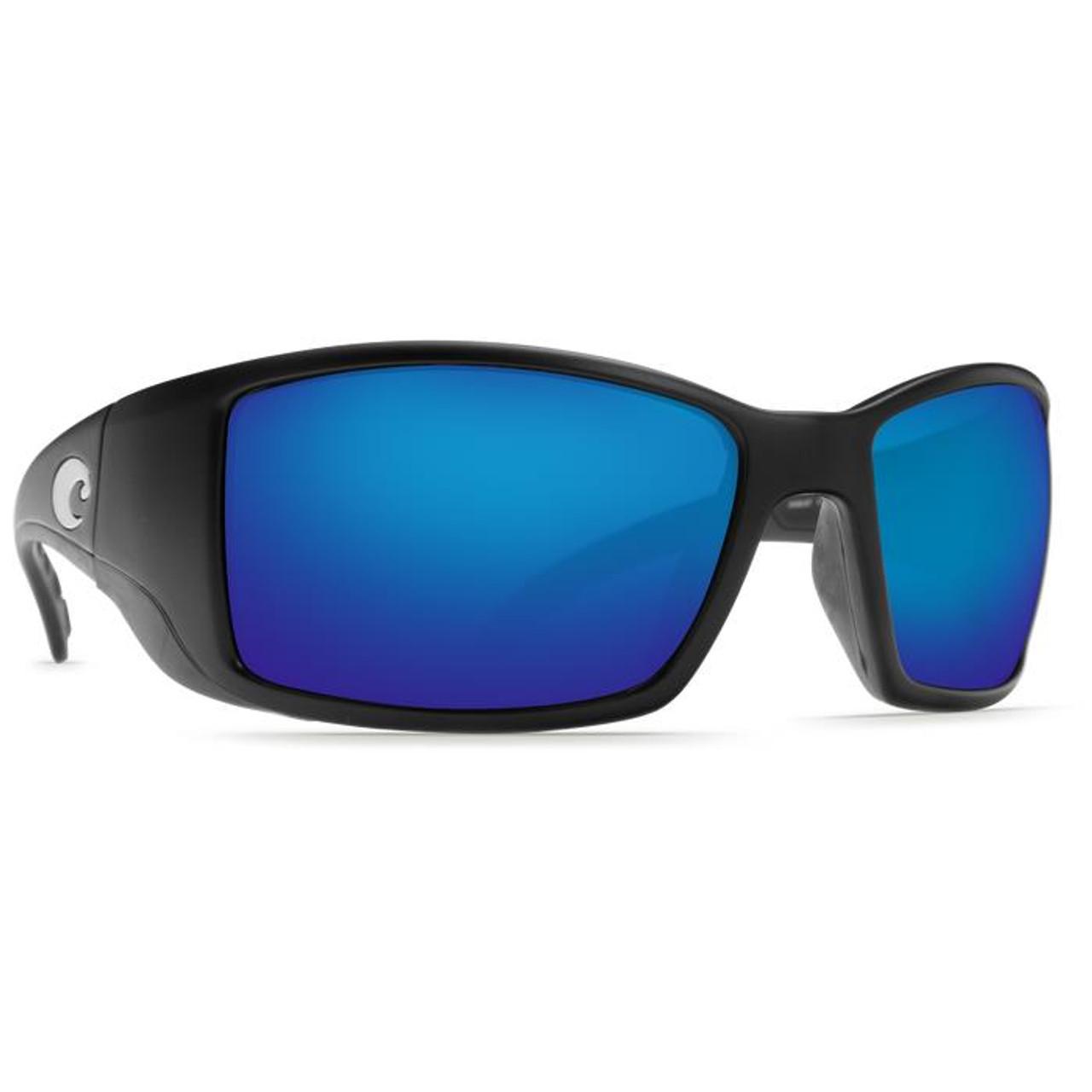 ce80c23db5e43 Costa Blackfin Matte Black w  Blue Mirror Polarized Glass  BL 11 OBMGLP -  097963454308