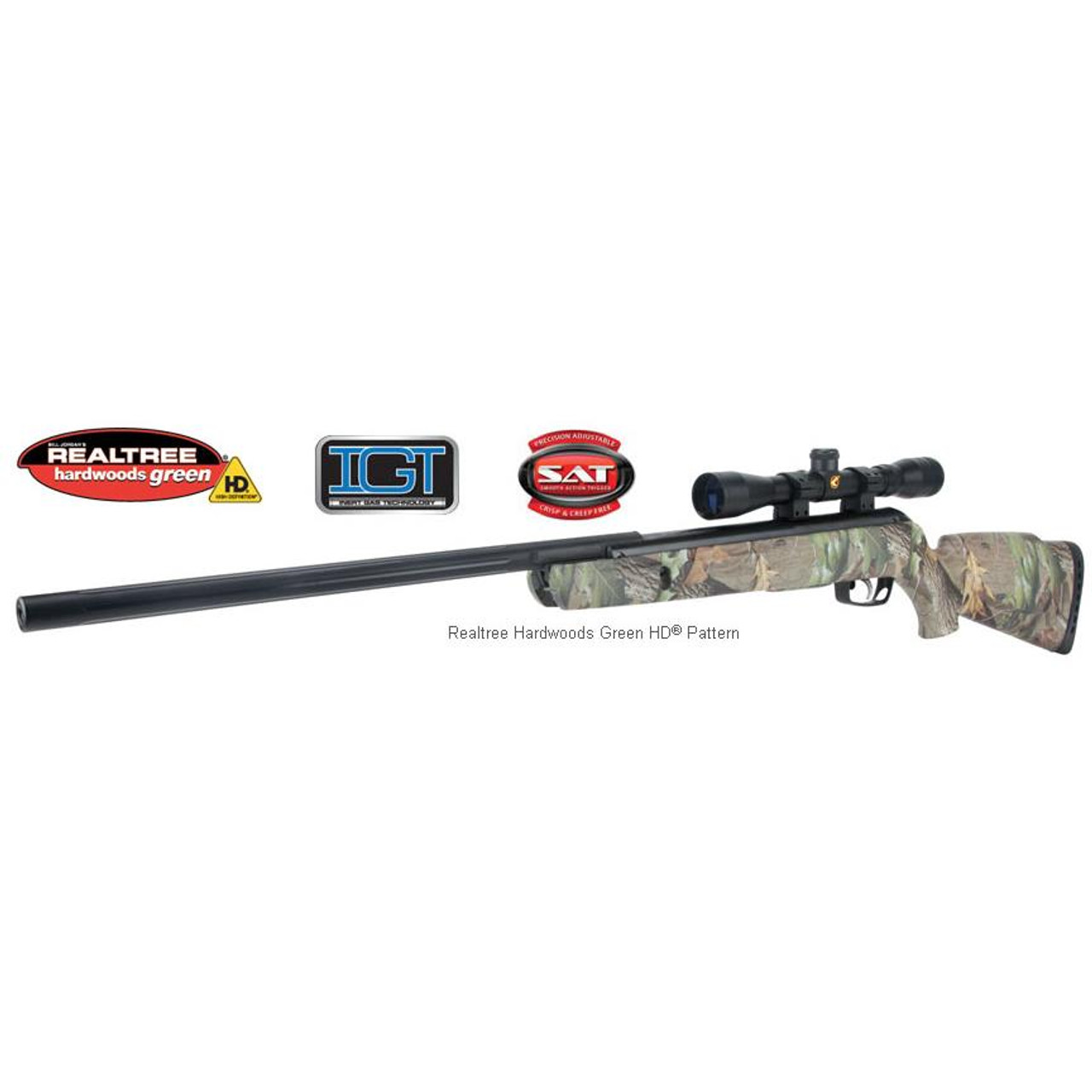 Gamo CAMO Rocket IGT  177 Caliber Air Rifle / 4X32 Air Rifle Scope  #61100482154
