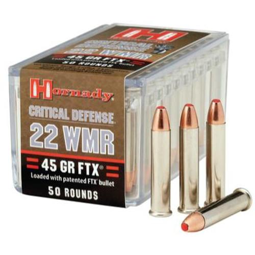 Hornady Critical Defense .22 WMR 45 Grain FTX #83200 - 090255832006