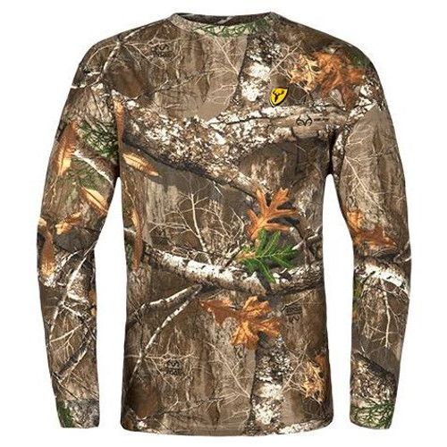 Scentblocker Youth Fused Cotton L/S Top #CLTY - 084229337246