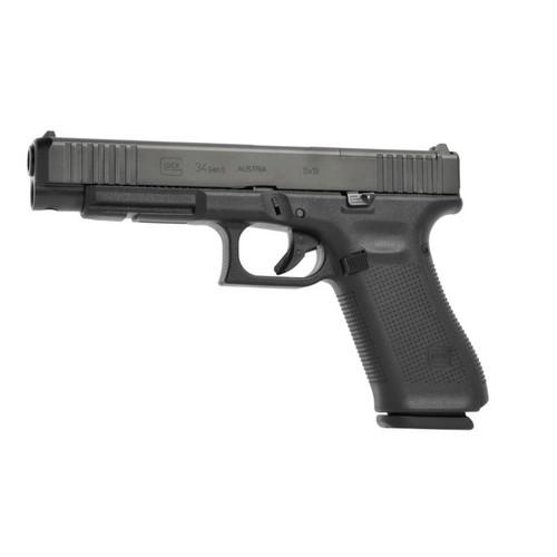 Glock 34 Gen5 MOS w/ Front Serrations #PA343S103MOS - 764503030024