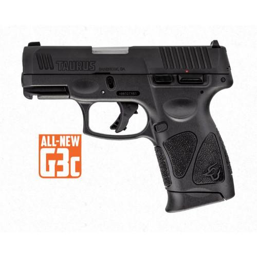 Taurus G3c Tenifer Matte Black 9mm Luger #1-G3C931 - 725327619307