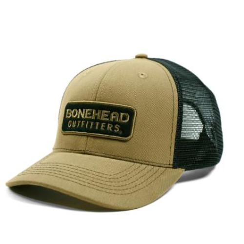 Bone Head Outfitters Drab Patch Hat #19111 - 657658433720
