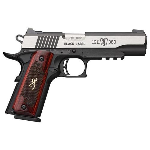 Browning 1911-380 Black Label Medallion Pro #051969492 - 023614850984