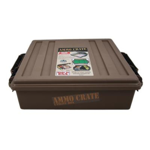 MTM Molded Products Ammo Crate Dark Earth #ACR5-72 - 026057362557