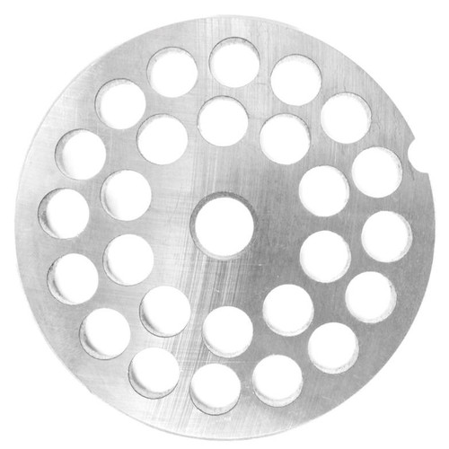 "LEM Products # 5 Stainless Steel Grinder Plate - 10mm (3/8"") #464BSS - 734494114645"