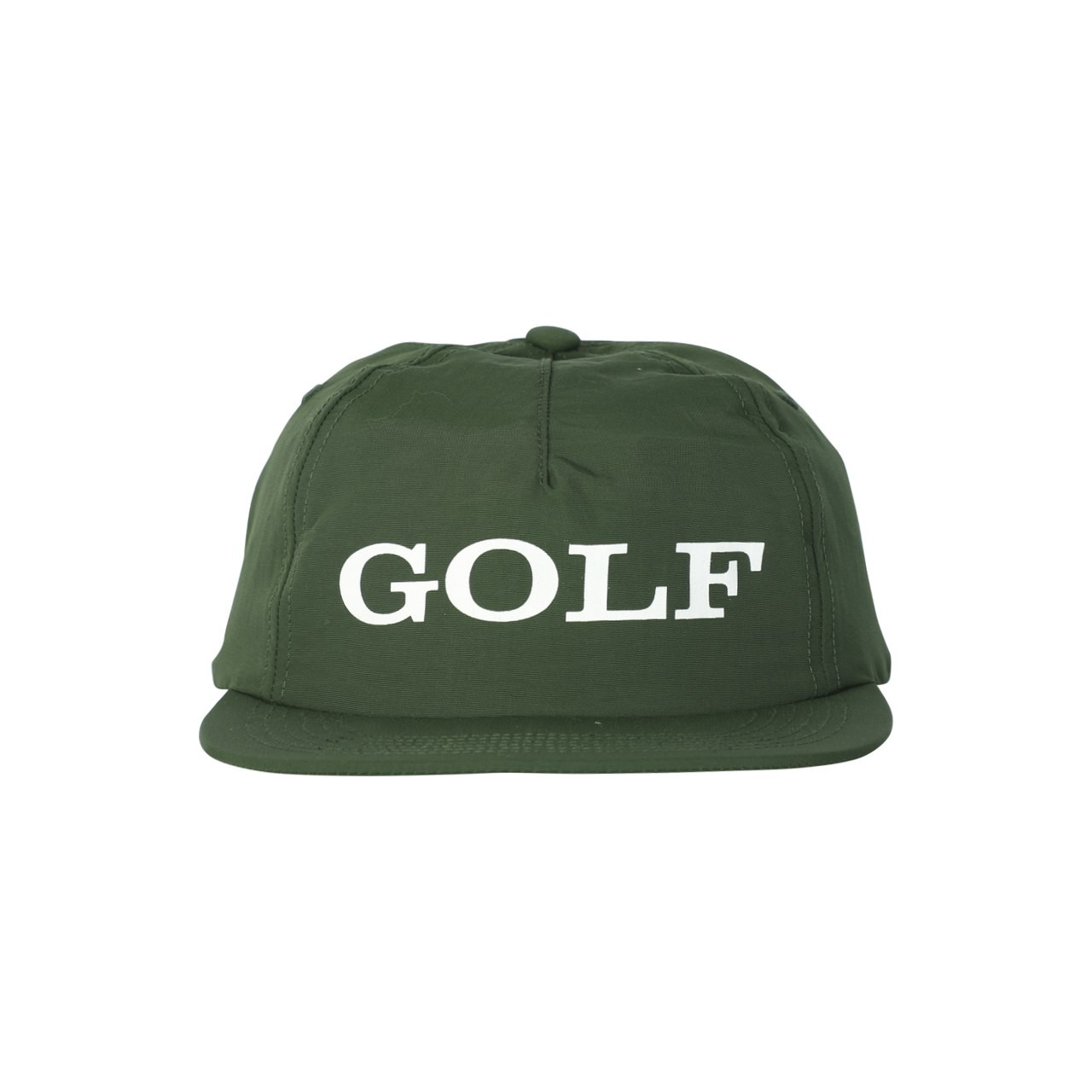 CORPORATE 5 PANEL HAT - FOREST GREEN by GOLF WANG - GOLF WANG bc6943d4f18