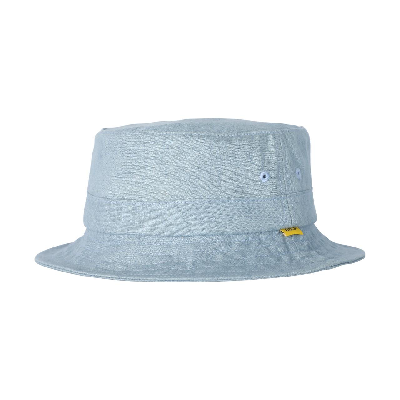 SOLID BUCKET HAT - LIGHT DENIM by GOLF WANG - GOLF WANG 6c8ff6e6aaf