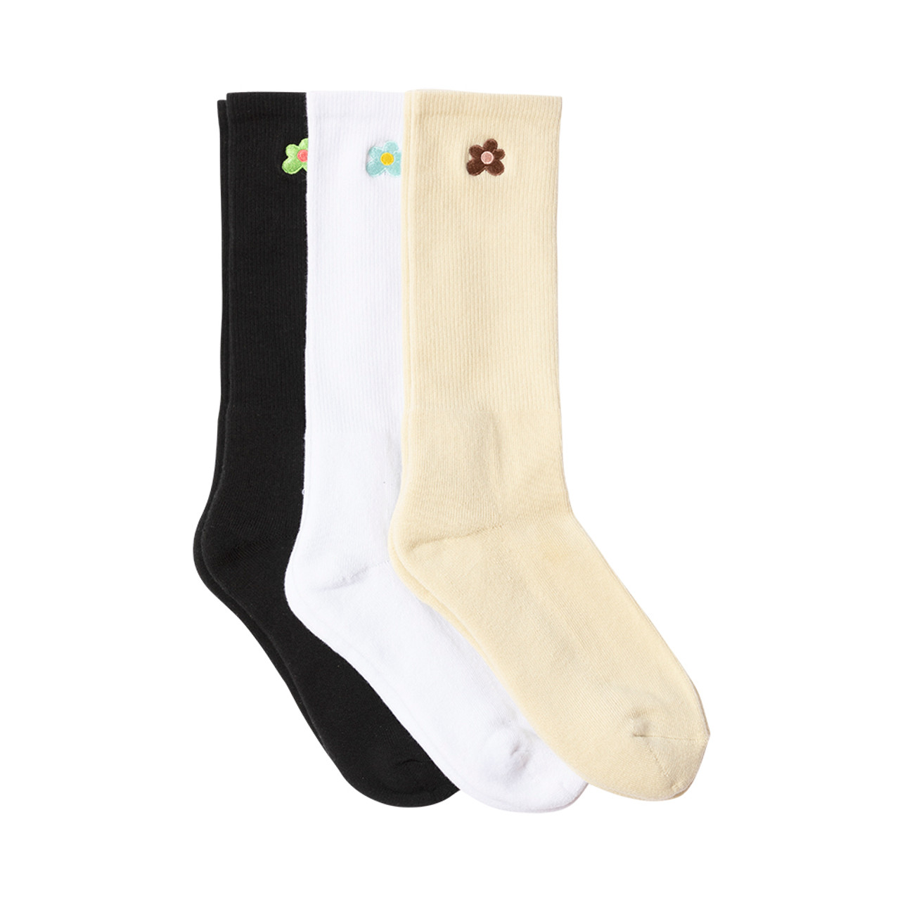 36067acb79f9 LE FLEUR DRESS SOCKS 3PK - MULTI by GOLF WANG - GOLF WANG
