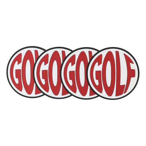 purchase cheap 33070 dd19f GOLF FISH EYE RUBBER COASTERS BY GOLF WANG