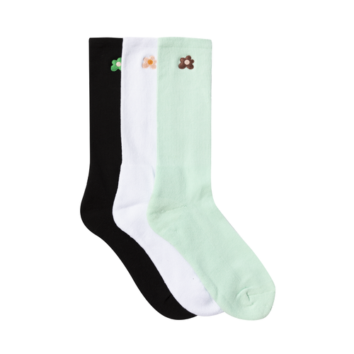 b1a7f63f63f526 GOLF LE FLEUR SOCKS (3 PACK) by GOLF WANG