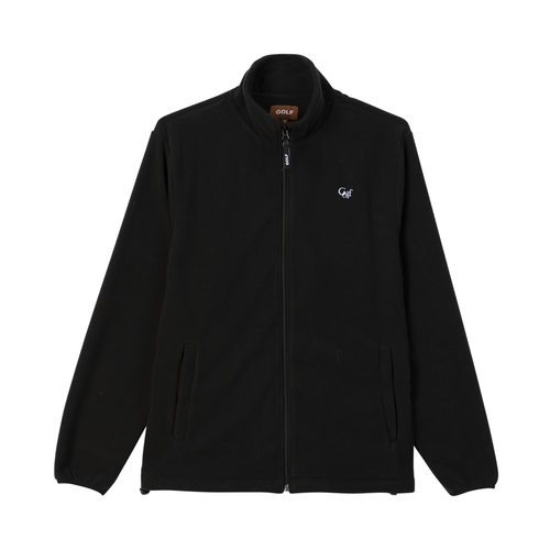 f83f7af4458 POSH GOLF POLAR FLEECE JACKET - BLACK by GOLF WANG