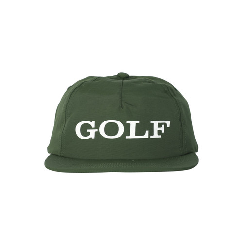 3393848dfa36 CORPORATE 5 PANEL HAT - FOREST GREEN by GOLF WANG