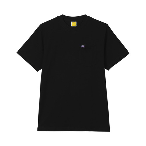 1dff7222f393 BASIC POCKET TEE - BLACK by GOLF WANG