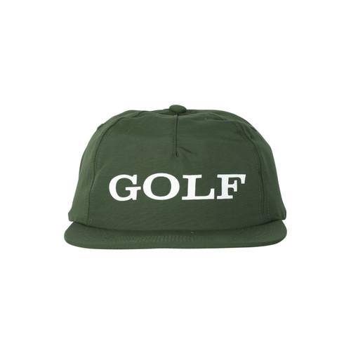 CORPORATE 5 PANEL HAT - FOREST GREEN by GOLF WANG - GOLF WANG 98e78b4defc