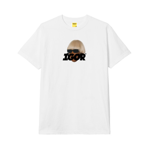 864e4bd9 Shoptagr | Faceless Tee White By Golf Wang by Golf Wang