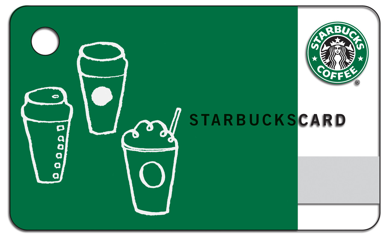 Free Starbucks Card With A 300 Purchase