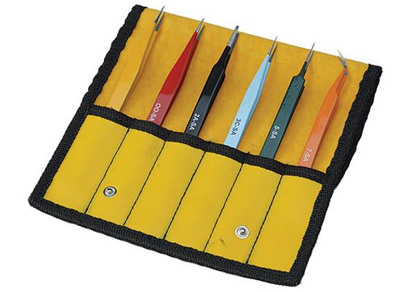 Aven 18480EZ EZ-pik precision tweezers
