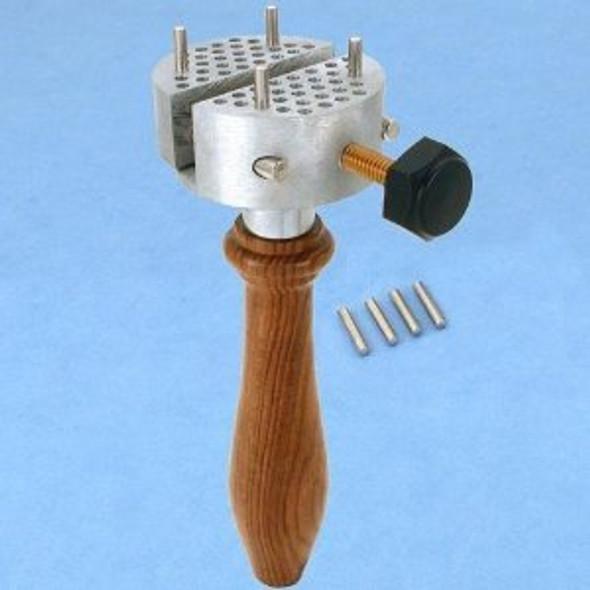 CML Supply Universal Work Holder Peg Clamp Vise & 8 Pins