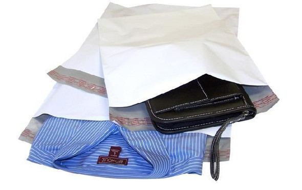"TekTuff Poly Mailer Bag Self Seal 9"" x 12"" Pk/100"