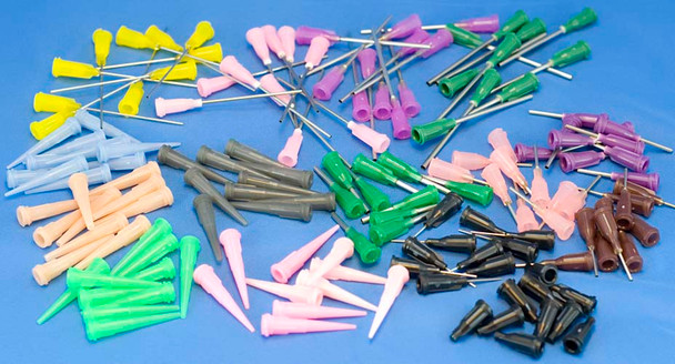 CML Supply 200-Pc Dispensing Needle Assortment Tip Sampler Kit