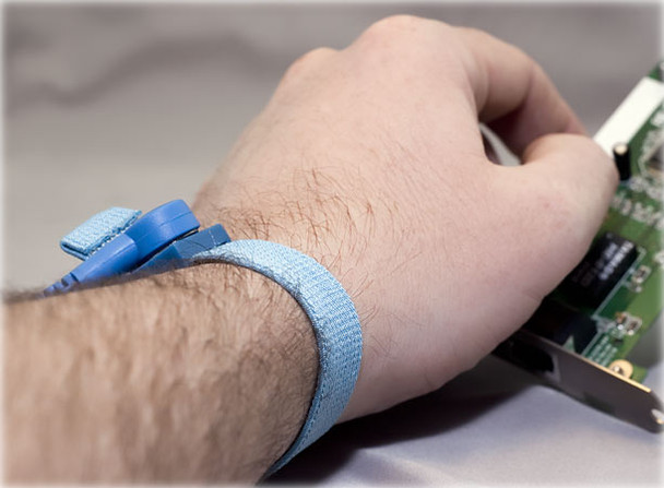 Free Gift with $35 purchase - Anti Static Wrist Strap - Blue