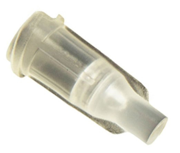 CML Supply Syringe Tip Cap Clear Luer Lock